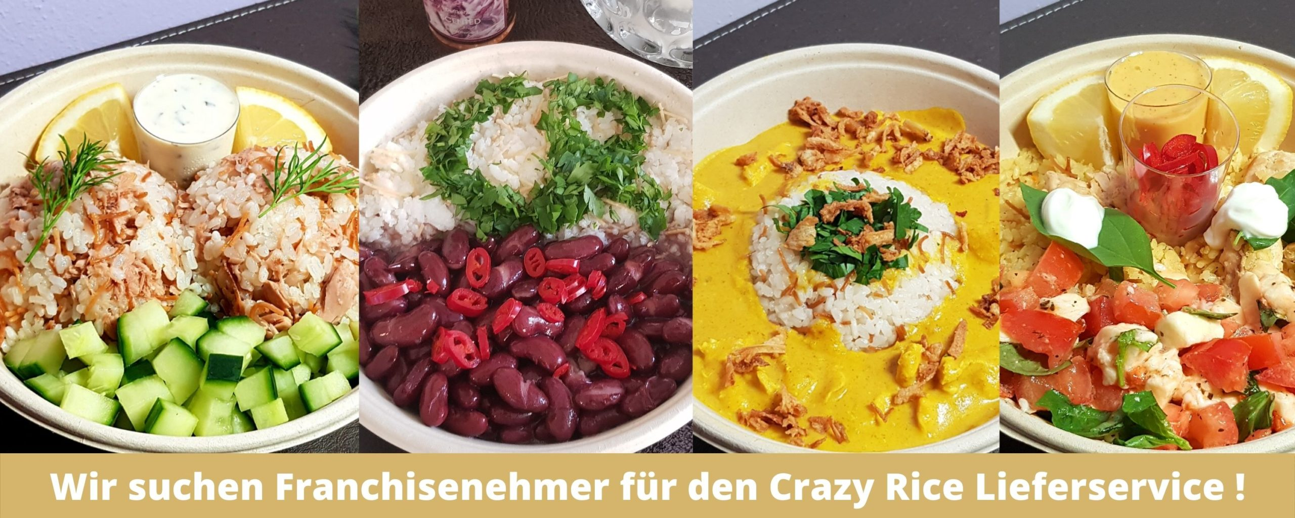 Crazy Rice Website Slider Startseite